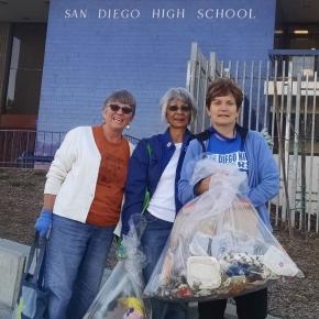 Walk Talk Trash Monthly Clean-up